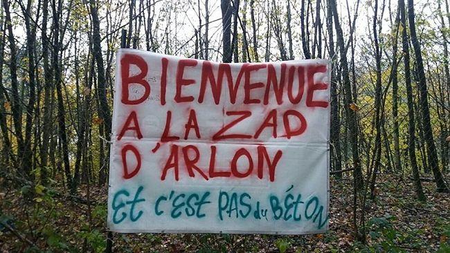 Communiqué – Soutien du groupe Ici et maintenant (Belgique) de la Fédération anarchiste à la Zablière – ZAD d'Arlon